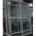 Fenêtres en verre trempé en aluminium en Chine Fenêtres en verre trempé en Chine