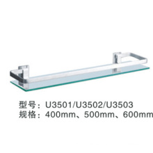 al por mayor soporte de abrazadera de estante de vidrio U3501