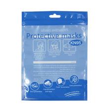 Wholesale market Face  Packaging Bag N95 Plastic Bag