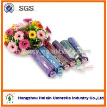 Chinois de cadeaux filles pliage parapluie avec fleurs