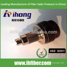 FC / UPC Singlemode Optical mecânico ajustável Masculino para feminino Atenuador 0-30db