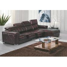 Novo modelo sofá de couro, sofá da forma moderna do Recliner L (GB01)
