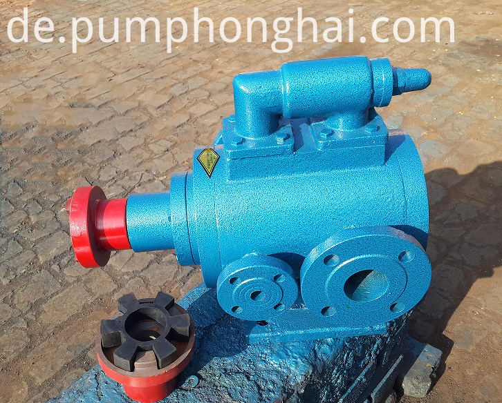 high temperaturre bitumen pump