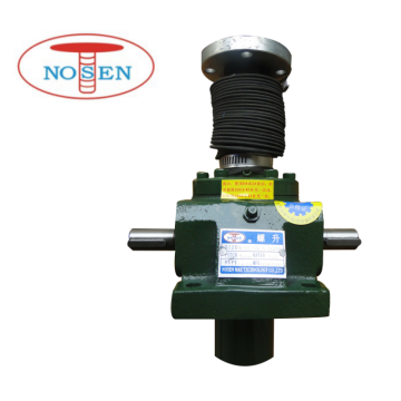 100T worm gear screw jacks for Sluice Gate
