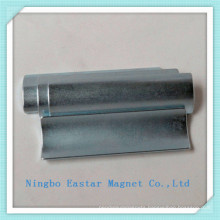N38uh Arc Shape Permanent Neodymium Magnet for Motor