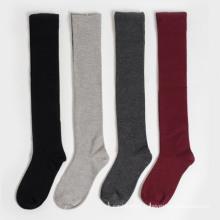 Women′s Girls Lady′s Tube Knee-High Cotton Stockings Socks (TA214)