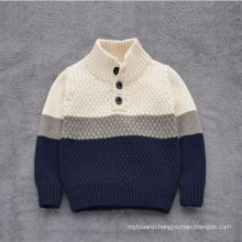 hot sale korean and western style boys sweater/cotton sweater for baby kids