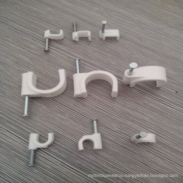 8mm Round Cable Clip (CHR-8MM)