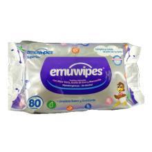 Lenços umedecidos biodegradáveis e naturais para bebês com cuidado suave