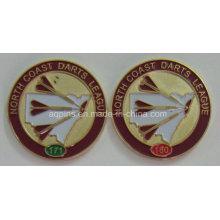Emblema feito-à-medida do metal do fabricante profissional para a liga (emblema-210)