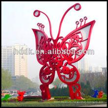 Stainless steel butterfly sculpture VSSSP-102L