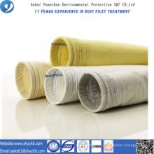 Colector de polvo no tejido PPS y P84 Compuesto bolsa de filtro para la planta de asfalto