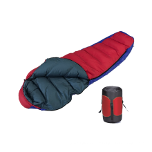 Extreme Weather 1000g Filling White Goose Down Sleeping Bag For Camping