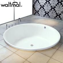 Современный дизайн CE Drop-in Soaking Round Bath