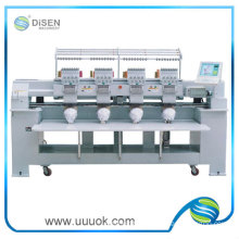 Four heads machine embroidery price