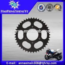 CG125 Rueda dentada de la motocicleta con precio bajo, alta calidad