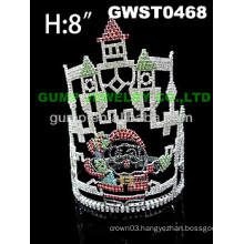 Santa's Castle tiara and crown