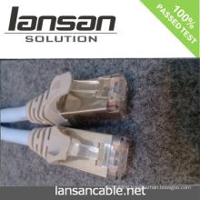 LANSAN Professional High Speed cat6 utp patch cord 4p 24awg PVC/LSOH ETL/UL/ROHS/ANATEL