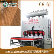 Tür-Haut-Kurzschluss-Zyklus-Melamin-Papier-Heißpress-Maschine