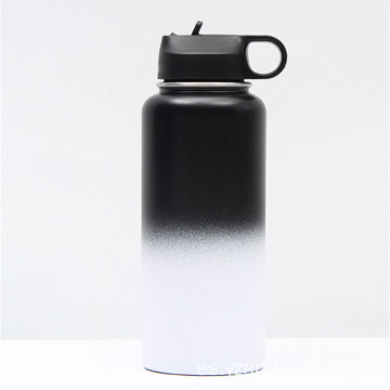 Customized Bicycle Vacuum Stainless Steel Sport Water Bottle
