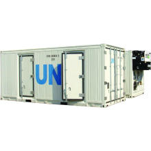 Kühlcontainer mit zwei Temperaturen