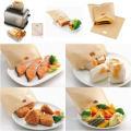 PTFE beschichtet Non-sticky Toast Packets Tasche wiederverwendbare 100times machen ein perfekt geröstetes Sandwich