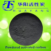850 valeur d'iode haute teneur en bleu de méthylène charbon actif en poudre