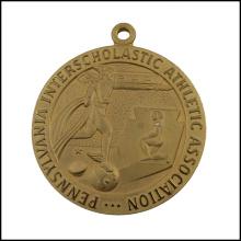 Medalha de metal gravada do ouro, medalha da associação (GZHY-JZ-028)