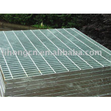 Plaque de grille en acier, panneau en acier, plaque en acier, grille en treillis en acier, grille moulée en acier