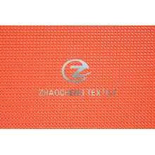 500d Jacquard Bar Poly Oxford with PU Coated for Bags