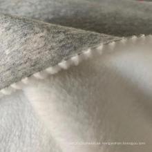 Tela de vellón de algodón de poliéster de pelo largo
