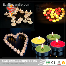 all'ingrosso candela tealight colorato