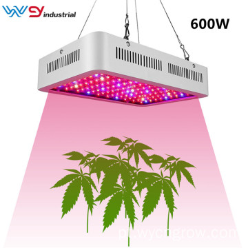 planta led grow light 600w espectro completo