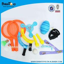 Maravilhoso conjunto completo de brinquedos desportivos ao ar livre