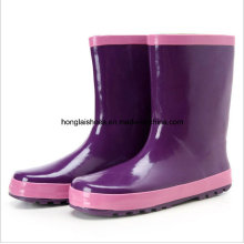 in The Fashionable Purple Rain Boots