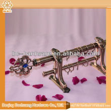 2014 new design high quality metal curtain rod
