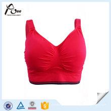 Breathable Frauen Gym nahtlose BH