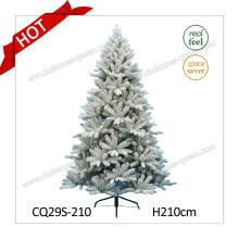 2017 Fashionable Plastic Christmas Decoration Christmas Tree with Snow 4-20FT