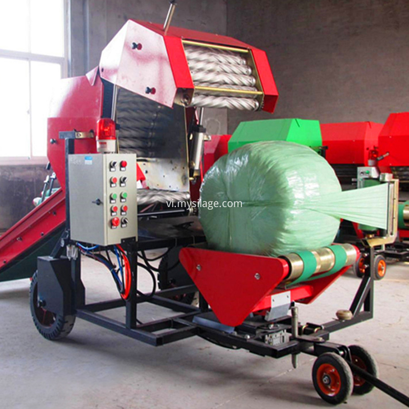 high efficiency bale machine