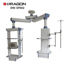 Krankenhaus-Ausrüstung ICU medizinischer hängender doppelter Arm-chirurgischer Turm
