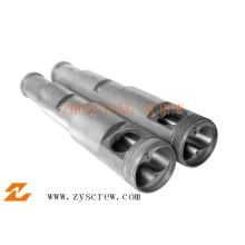 Parafuso cônico duplo para máquina de extrusão Sjsz 80
