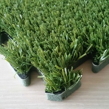 Simplify Installation Green Interlocking Synthetic Grass