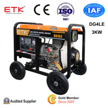 3kw Electric Start Diesel Generator with Automatic Operation