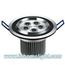 2013 Hot Vente CE & ROHS 5W plafonnier conduit vers le bas de la lumière