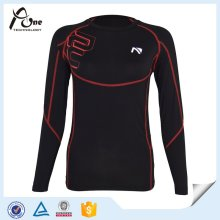 Compression Women Tops Wholesale Suplex Fitness Wear