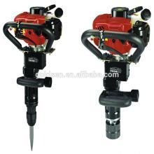 50mm 55mm 70mm Mini Benzin Post Driver Handheld Benzin Stapel Hammer