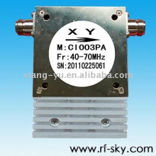 100W 40-70MHz SMA/N Connector Type Communication Passive Coaxial Isolators
