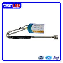Interfaz USB de laboratorio digital sin sensor de temperatura de superficie de pantalla
