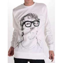 Men Head Design Printed Cotton Custom Wholesale T Shirt