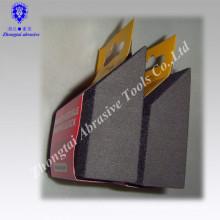 Abgewinkelter Schleifschleifschwamm aus Aluminiumoxid